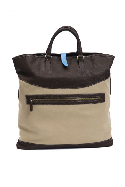 Handbag Piquadro CA3013IT2_MarroneBrown