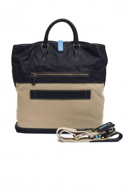 Handbag Piquadro CA3013IT2_BluNavy
