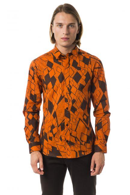 Camicia Byblos Uomo Arancione B1DGD6P316495_737ACACIA