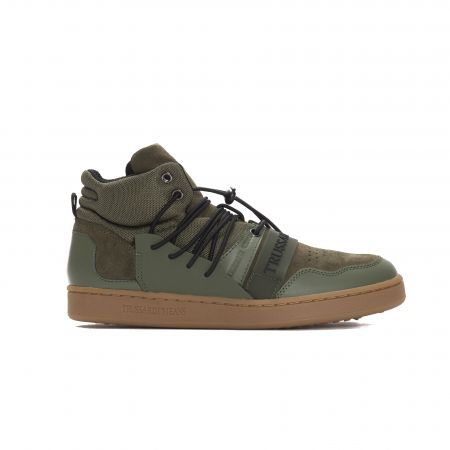Sneakers Trussardi Jeans 77A00099_VerdeMil.Military