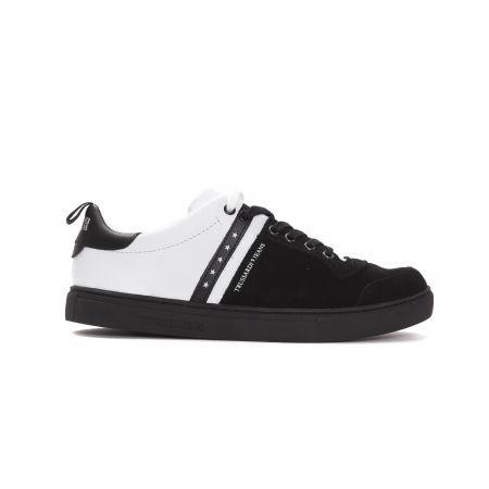 Sneakers Trussardi Jeans Uomo black/white 77A00110_BLACKWHITE