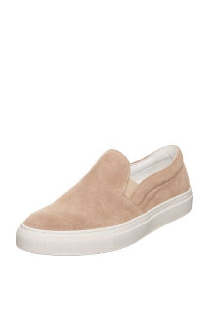 Woman Suede Moccasin Pantofola D'Oro FIS20WD_BEIGE