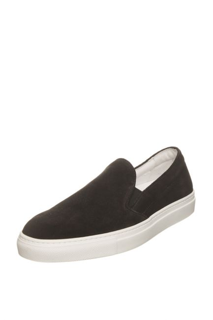 Men's Leather Moccasin Pantofola D'Oro FIS20WU_NeroBlack