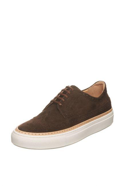 Scarpe Casual Pantofola D'Oro Uomo Marrone WER11WU_T.MoroBrown