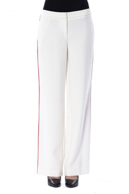 Pantalone Byblos Donna Bianco A1BMB14613387_008BIANCOLATTE