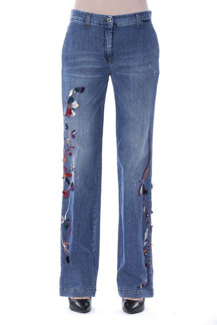 Jeans Byblos Donna Blu A1BQB136AISZ3_904INDIGO