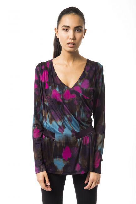 T-Shirt Byblos Donna Multicolore B2BGD75116236_104VERDEMUFFA