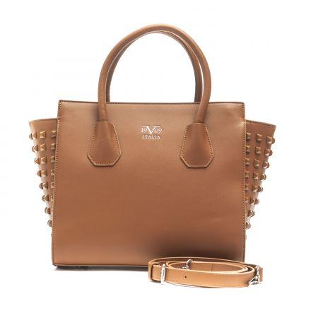Handbag 19V69 Italia D16_cognac