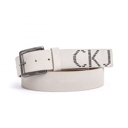Cintura Calvin Klein Jeans Uomo Beige C7200PPY600_9A1grigiosc