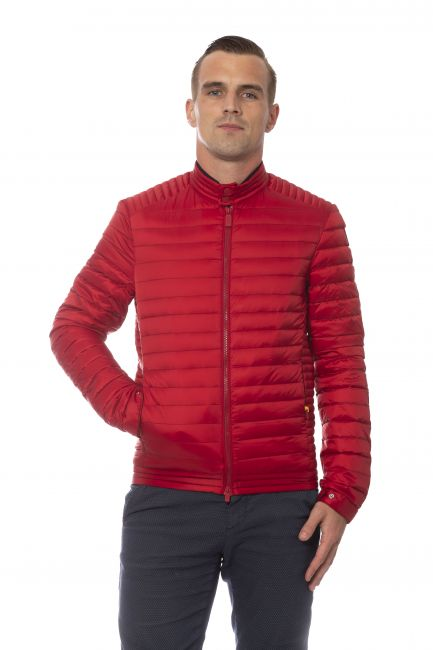 Giubbotto Ciesse Uomo Rosso N021D0NEWSPENCER_5213PPCHILIPEPPERl.BLUE+STRIPES