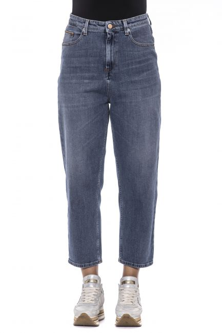 Jeans Care Label HIGH729T8830_235DENIM