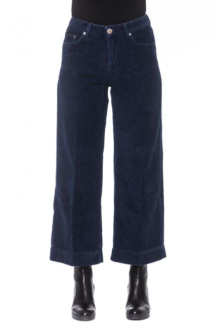 Pantalone Care Label Donna Blu OLIV549T9389_561BluNavy