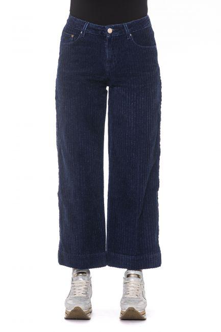 Pantalone Care Label Donna Blu OLIV549T9389_261DARK