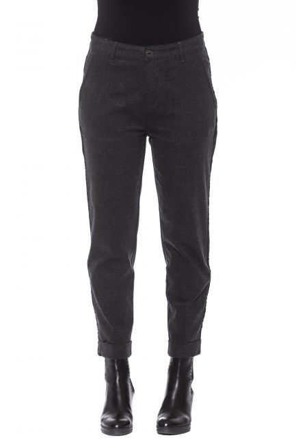 Pantalone Care Label Donna Grigio SLEEK437T9397_930DARKGREY