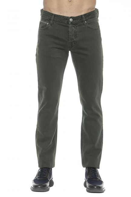Jeans Care Label Uomo Verde BODI214T8851_250FOREST