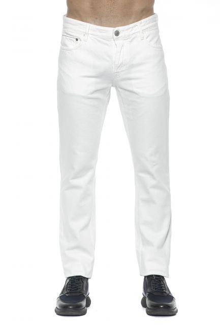 Jeans Care Label Uomo Bianco BODI214T8851_001WHITE