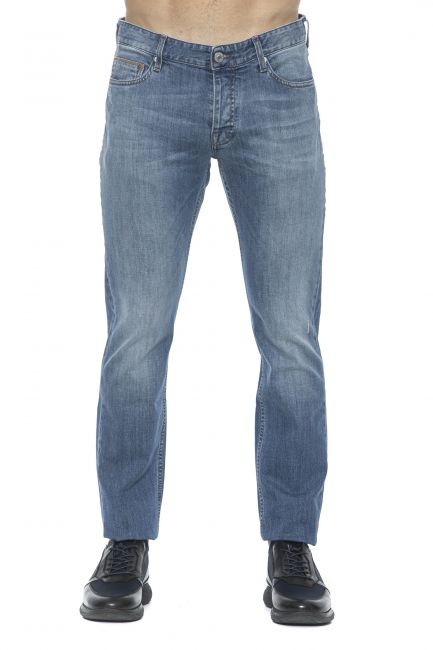 Jeans Care Label Uomo Blu BODI214T8858_439DENIM