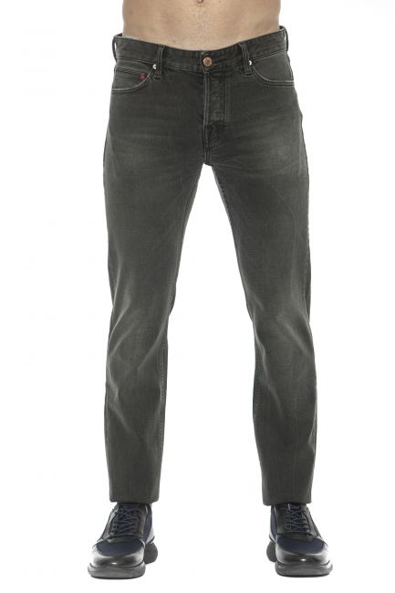 Jeans Care Label Uomo Nero BODI214T9296_444DARK