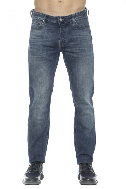 Jeans Care Label Uomo Blu BODI218T8858_445DENIM