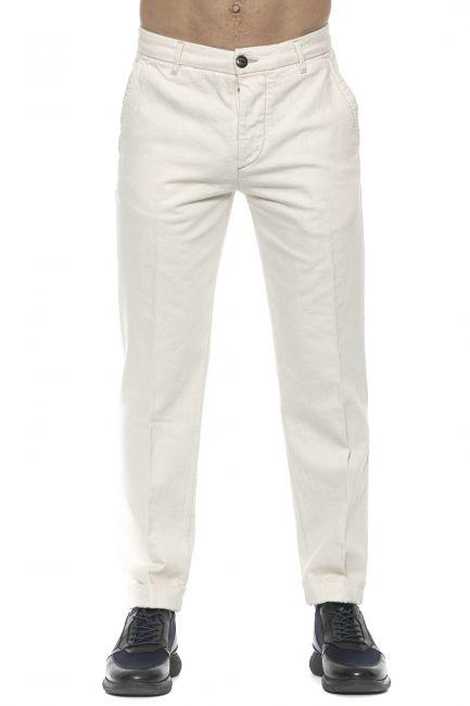 Pantalone Care Label Uomo Bianco BREEC156T8851_003DARK