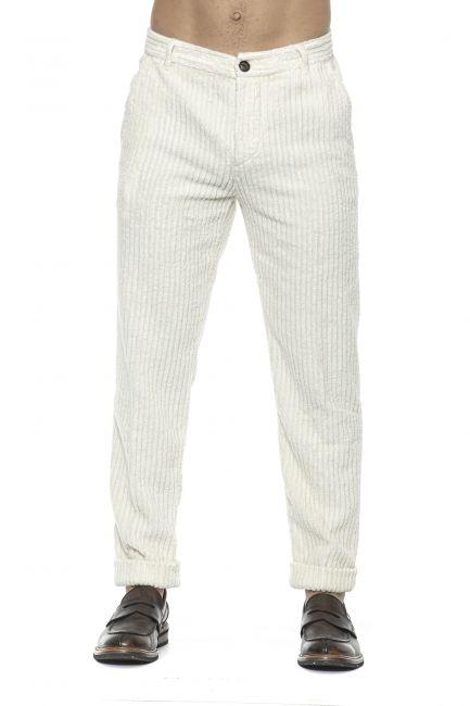Pantalone Care Label Uomo Bianco BREEC156T9376_005MILK