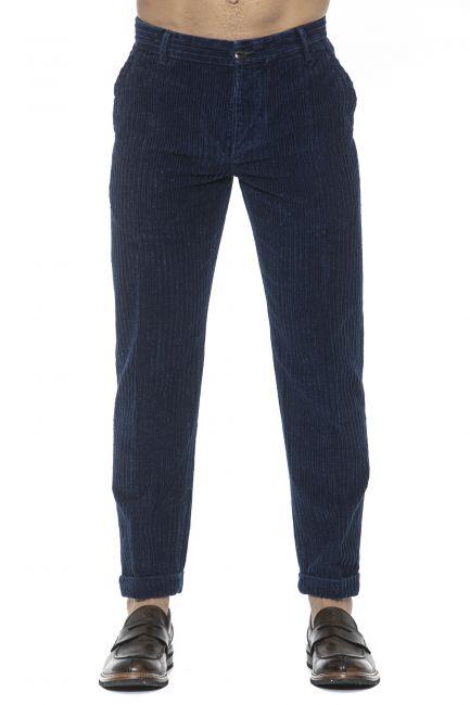 Pantalone Care Label Uomo Blu BREEC156T9389_577DENIM