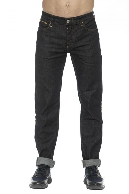 Jeans Care Label Uomo Nero CLIFF234T6778_611DARK