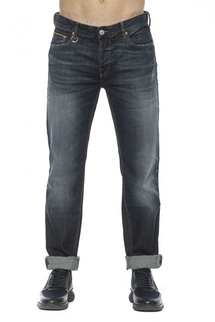 Jeans Care Label Uomo Blu CLIFF234T6778_612DARK