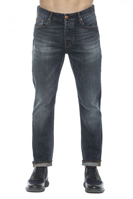 Jeans Care Label Uomo Blu LUKE142T6778_438DENIM