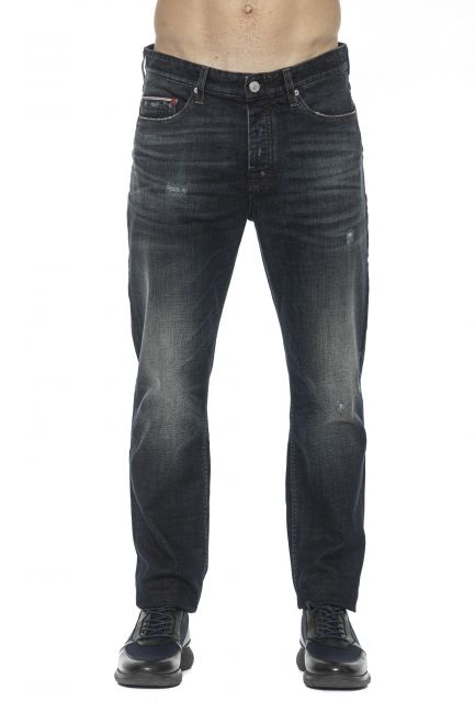 Jeans Care Label Uomo Blu LUKE142T6778_458DENIM