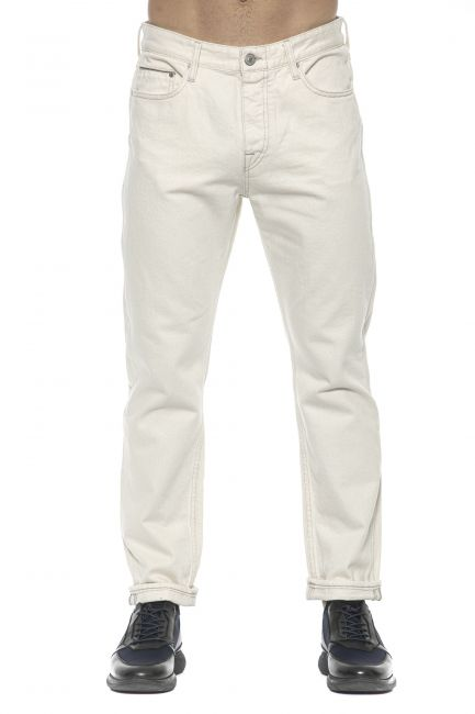 Jeans Care Label Uomo Bianco LUKE142T8851_003DENIM