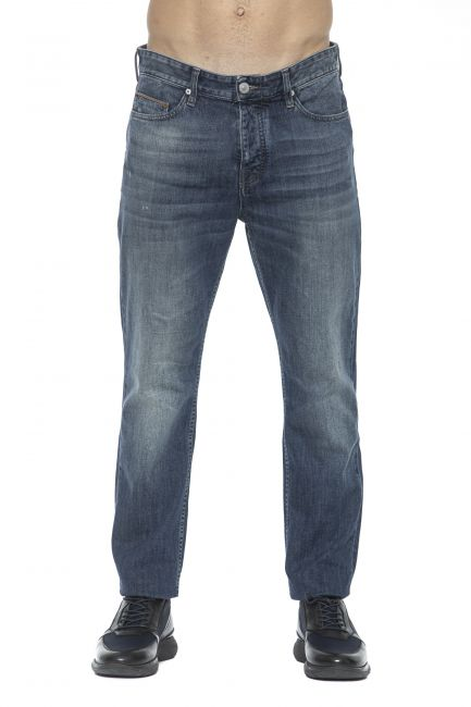 Jeans Care Label Uomo Blu LUKE142T8858_445DENIM