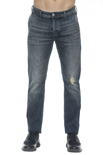 Jeans Care Label Uomo Blu SLACK364T5601_447DENIM