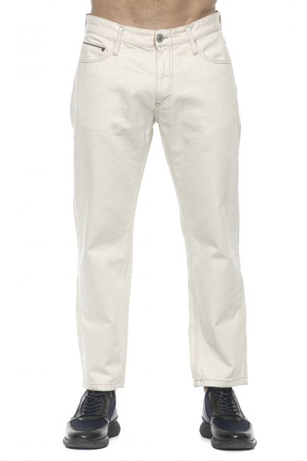 Jeans Care Label Uomo Bianco SPIKE718T8851_003DARK