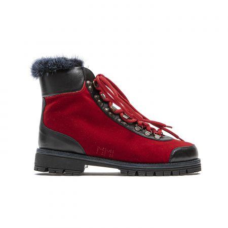 Woman's Shoes Mr&Mrs Italy PL012E_4286RedBlueNavyBlueNavy