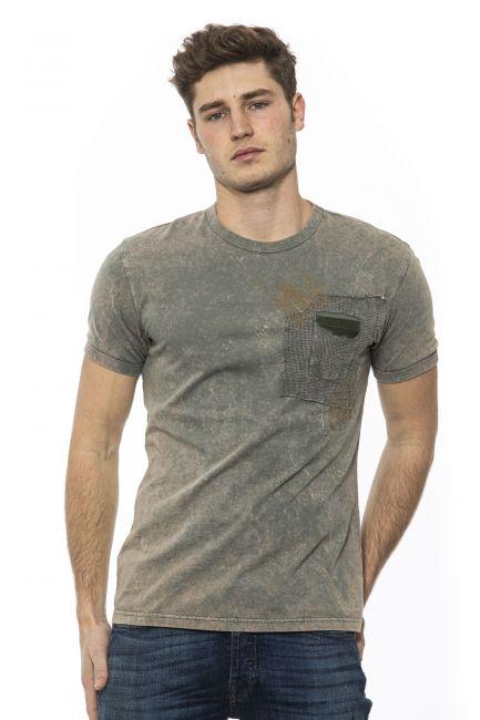 T-Shirt Mr&Mrs Italy Uomo Beige TS124E_3387MisdyedArmy