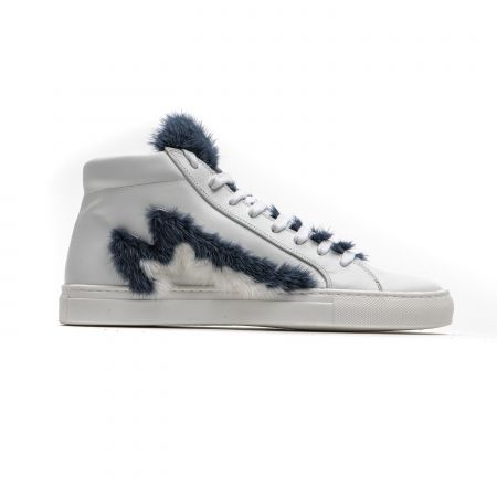 Sneakers Mr&Mrs Italy Donna Bianco SK045E_5362BlueNavyRosemary