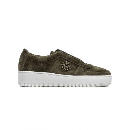 Women's Sneaker Mr&Mrs Italy SK048_3040Army