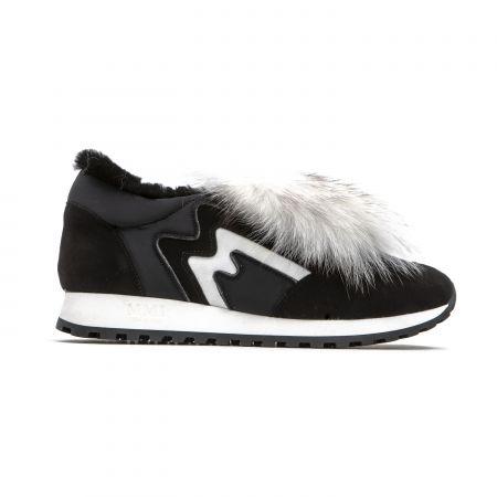 Women's Sneaker Mr&Mrs Italy SK058E_9070BlackWhite