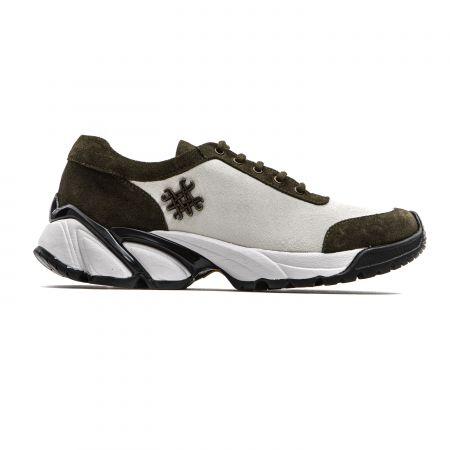 Women's Sneaker Mr&Mrs Italy SK069_1149IvoryArmy