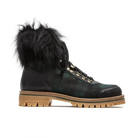 Woman Ankle Boot Mr&Mrs Italy XPL0103_381600GreenBlueBlack