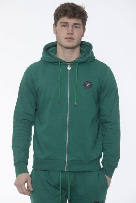 Men's Hooded Sweatshirt 19V69 Italia VI20AI0008_VerdeGreen