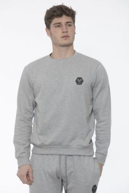 Men's Crewneck Sweatshirt 19V69 Italia VI20AI0010_GrichLtGrey