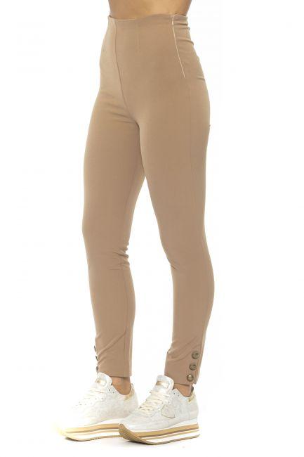Pantalone Alpha Studio Donna Beige AD9630Q_CAMMELLO