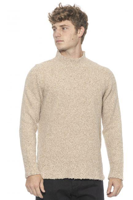 Man turtleneck sweater Alpha Studio AU9410CE_3002BEIGE