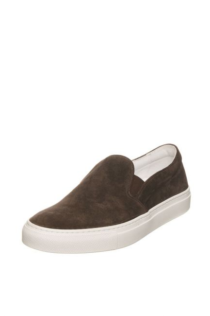 Woman Suede Moccasin Pantofola D'Oro FIS20WD_T.MoroBrown