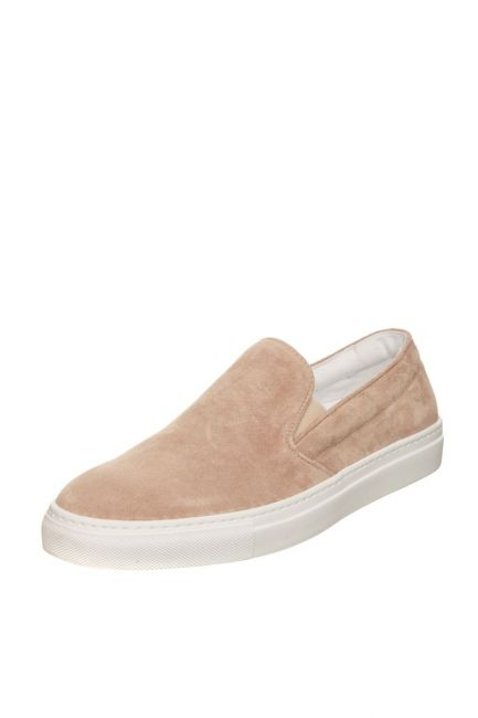 Men's Leather Moccasin Pantofola D'Oro FIS20WU_BEIGE