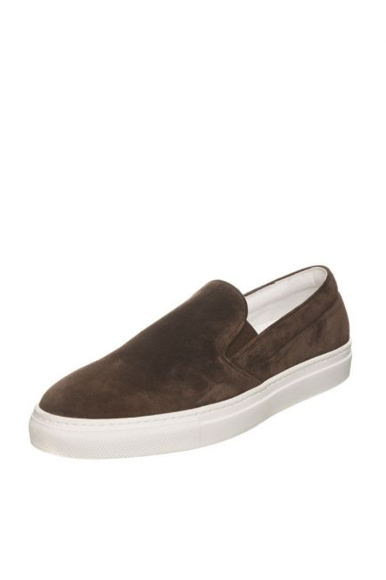 Men's Leather Moccasin Pantofola D'Oro FIS20WU_T.MoroBrown