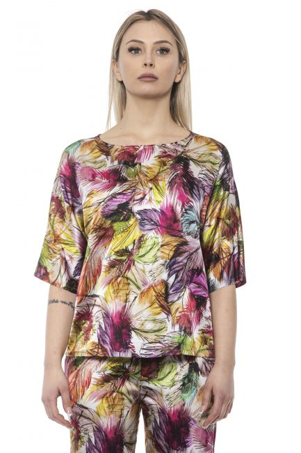 Blusa Alpha Studio Donna Multicolore AD8640C_9000VAR.UNICA