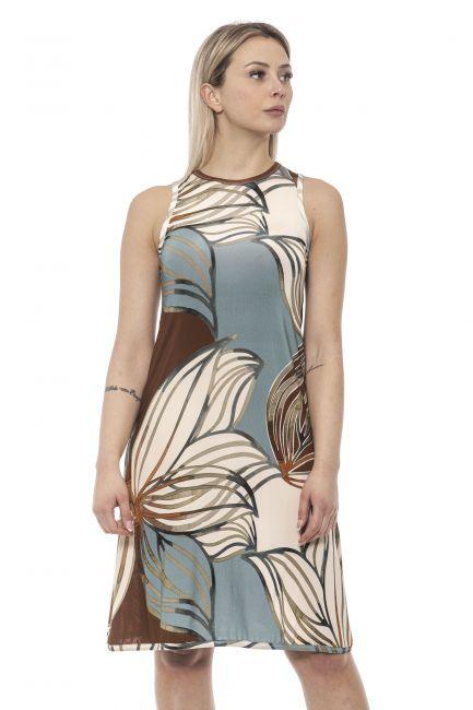 Dress Alpha Studio AD8611O_5290TABACCO